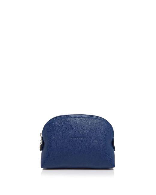 Longchamp | Blue Le Foulonne Dome Cosmetic Case | Lyst