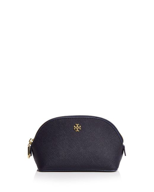 Tory Burch | Blue York Small Cosmetic Case | Lyst