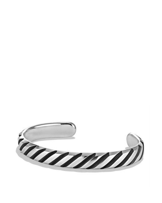 David Yurman | Metallic Modern Cable Cuff Bracelet for Men | Lyst