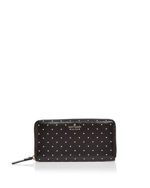 Kate Spade | Black Brooks Drive Lacey Wallet | Lyst