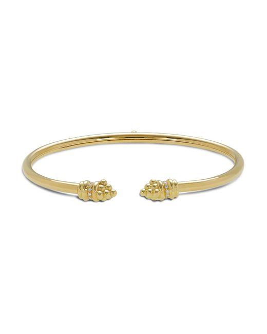 Temple St. Clair | Metallic 18k Gold Bellina Bracelet With Diamonds | Lyst