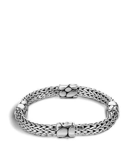 John Hardy | Metallic Women's Sterling Silver Kali Four Station Bracelet | Lyst