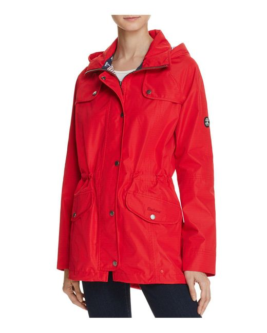 Barbour | Red Trevose Anorak | Lyst