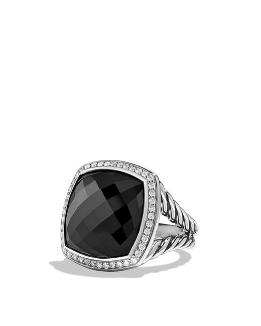 David Yurman | Albion Ring With Black Onyx And Diamonds | Lyst
