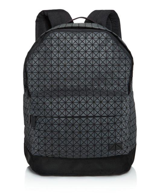 Bao Bao Issey Miyake Black Geometric Backpack for men