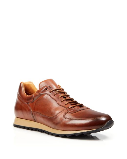 To Boot | Brown Sheridan Trainer Sport Sneakers for Men | Lyst