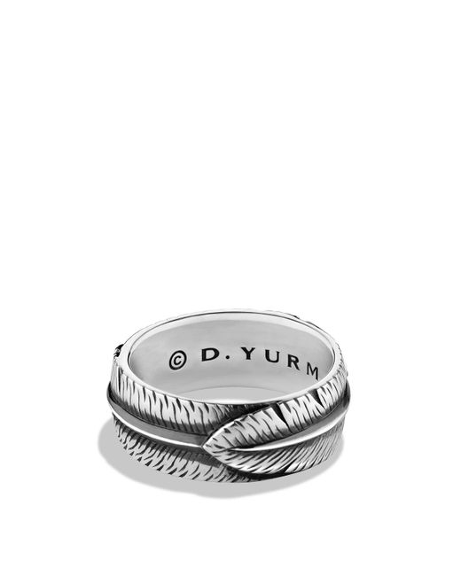 David Yurman | Metallic Frontier Band Ring | Lyst