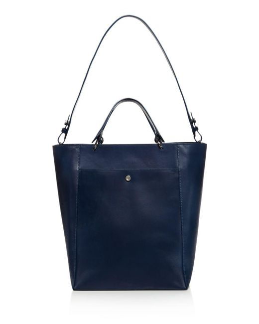 Elizabeth and James - Blue Eloise Large Leather Tote - Lyst