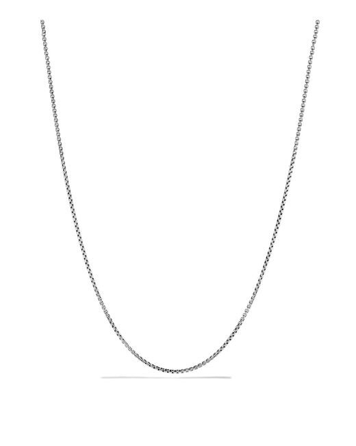 David Yurman | Metallic Chain Necklace | Lyst