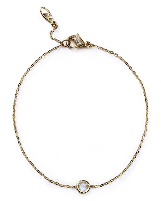 Nadri   Metallic Cubic Zirconia Bracelet   Lyst