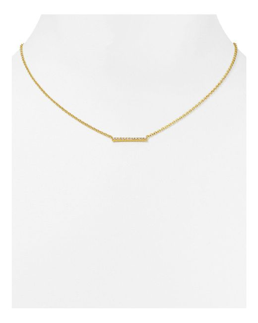 Gorjana | Metallic Knox Pave Necklace, 18"