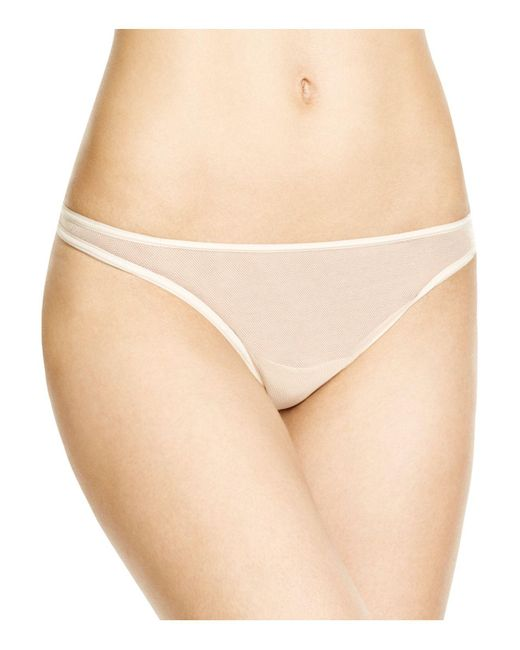 Cosabella | Natural Soire New Classic Low-rise Thong #soirn0321 | Lyst