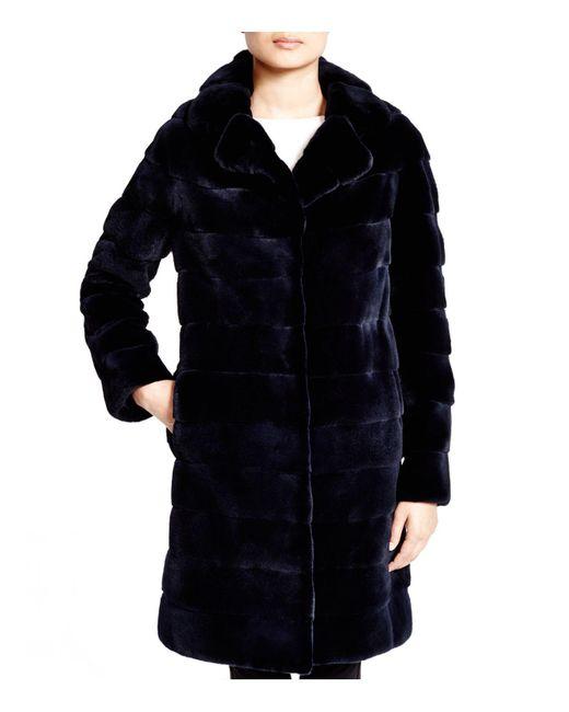 Maximilian | Blue Maximilian Mink Coat | Lyst