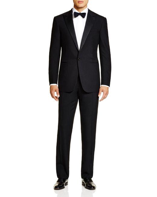 Pink Pony | Black Formal Basic Peak Lapel Regular Fit Tuxedo for Men | Lyst