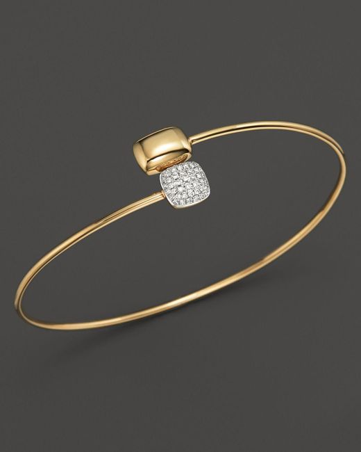 KC Designs | Metallic Diamond Square & Rectangle Bracelet In 14k Yellow Gold | Lyst