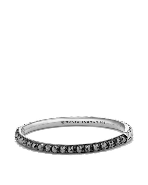 David Yurman - Metallic Osetra Bangle Bracelet With Hematine - Lyst