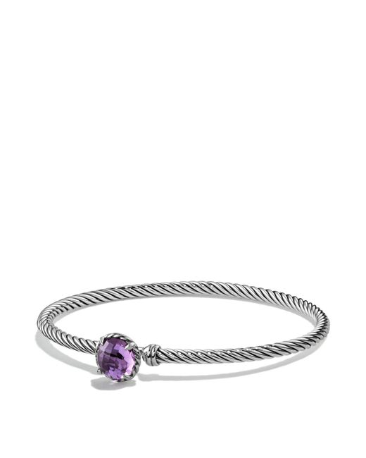 David Yurman | Metallic Châtelaine Bracelet With Amethyst | Lyst