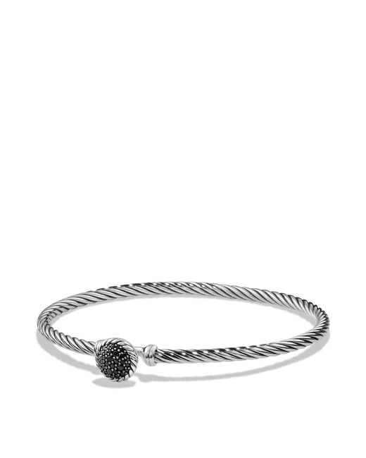 David Yurman | Metallic Châtelaine Bracelet With Black Diamonds | Lyst