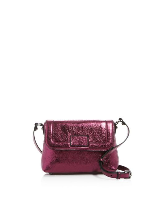 Marc By Marc Jacobs | Purple Abbott & Blaze Abbott Metallic Crossbody | Lyst