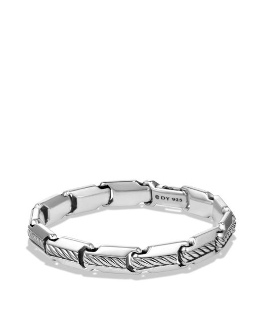 David Yurman | Metallic Cable Classics Chain Bracelet | Lyst