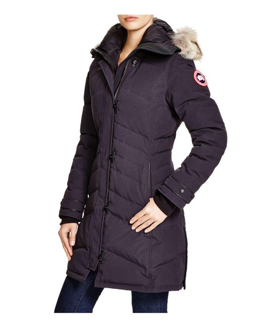 Canada Goose - Blue Lorette Quilted Down Jacket - Lyst ...