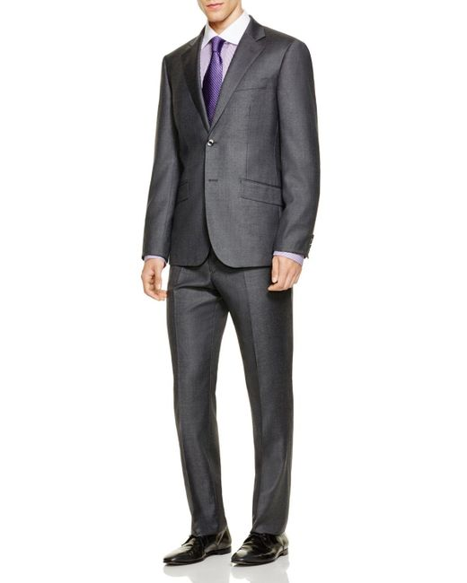 Hardy Amies | Gray Basic Regular Fit Suit for Men | Lyst