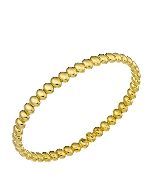 Chimento | Metallic 18k Yellow Gold Armillas Acqua Collection Bead Link Bracelet | Lyst