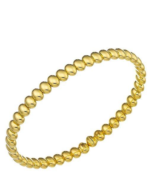 Chimento | Metallic 18k Yellow Gold Armillas Acqua Collection Bead Link Bracelet | Lyst