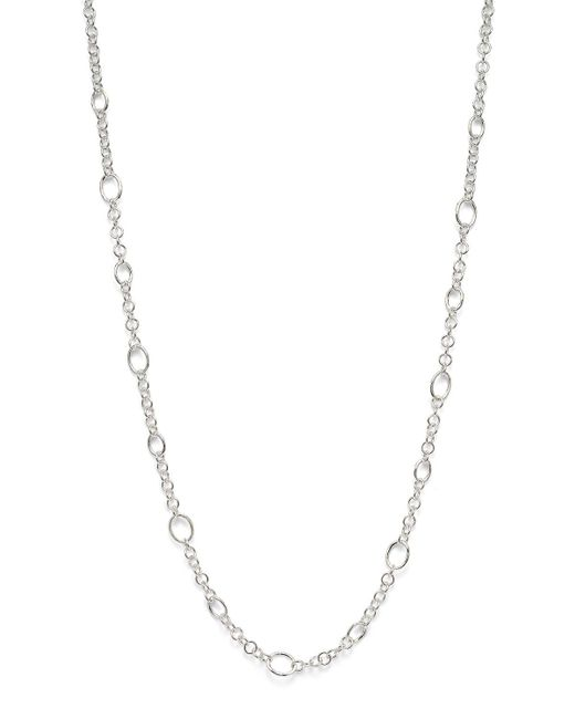 Ippolita | Metallic Sterling Silver Glamazon Link Necklace, 40"