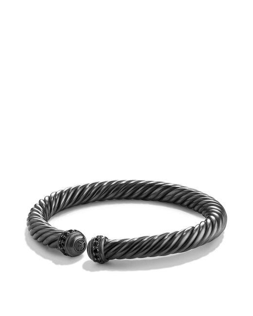 David Yurman | Cable Spira Bracelet With Black Diamonds | Lyst