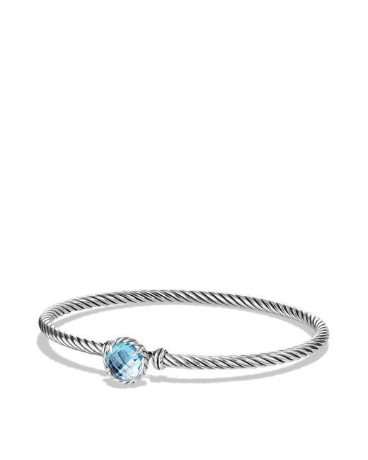 David Yurman | Châtelaine Bracelet With Blue Topaz | Lyst