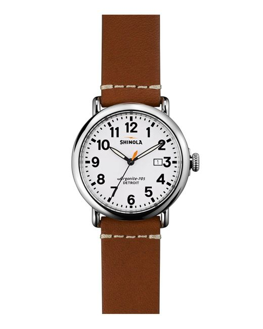 Shinola | Brown 41mm for Men | Lyst