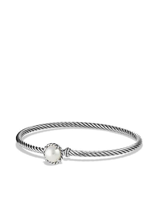 David Yurman | White Châtelaine Bracelet With Pearls | Lyst