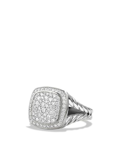 David Yurman | Metallic Albion Ring With Diamonds | Lyst