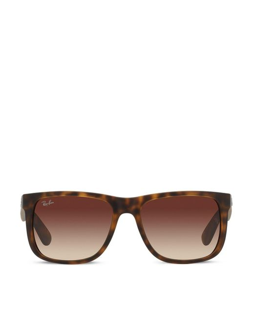 Ray-Ban | Brown Wayfarer Sunglasses | Lyst