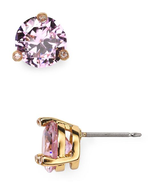 Kate Spade | Pink Rise And Shine Stud Earrings | Lyst