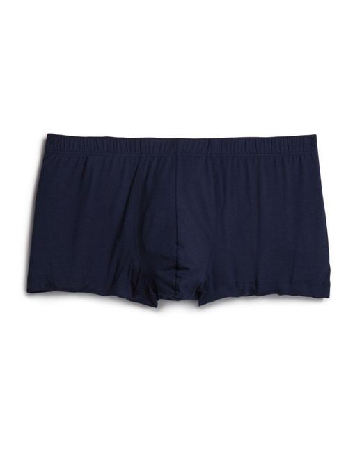 Hanro | Blue Cotton Superior Boxer Briefs for Men | Lyst