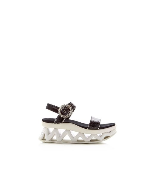 Marc By Marc Jacobs Ninja Wave Strass Snake Embossed