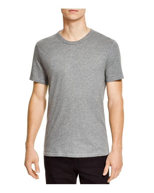 T By Alexander Wang   Gray Classic Short Sleeve Tee for Men   Lyst