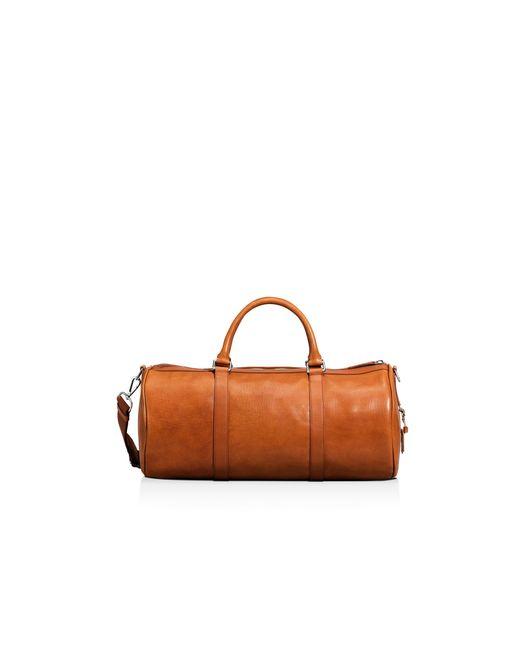 Shinola Medium Duffel Bag In Brown For Men Bourbon Lyst