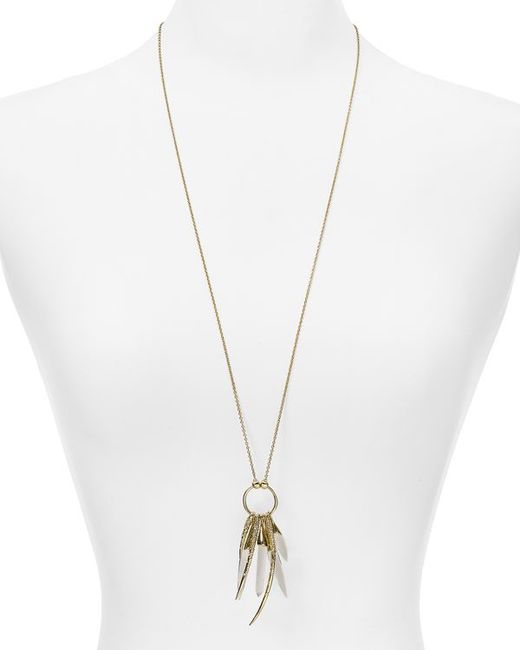 Alexis Bittar | Metallic Hyperion Gold Small Aura Pendant You Might Also Like | Lyst