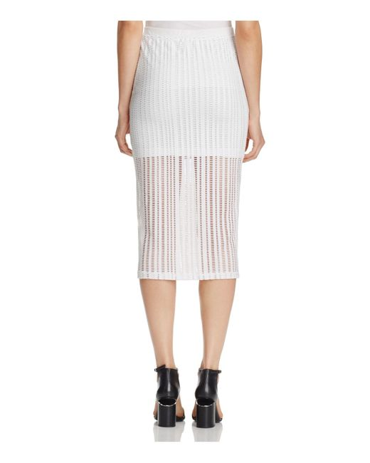Find white pencil skirt jersey at ShopStyle. Shop the latest collection of white pencil skirt jersey from the most popular stores - all in one place.