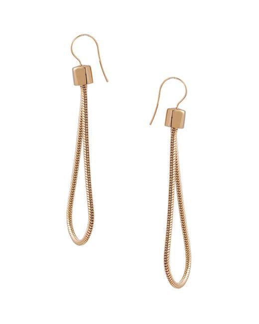 Trina Turk | Metallic Loop Drop Earrings | Lyst