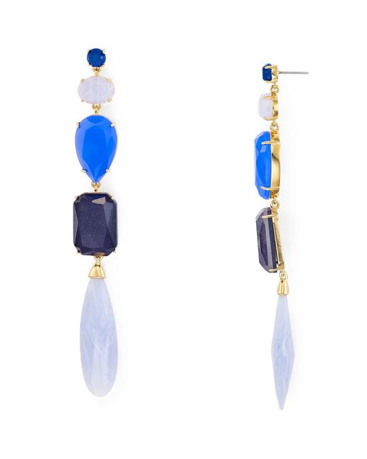 Kate Spade | Blue Symphony Sparkle Drop Earrings | Lyst