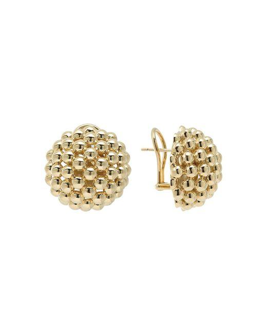 Lagos   Metallic 'caviar Icon' Stud Earrings   Lyst