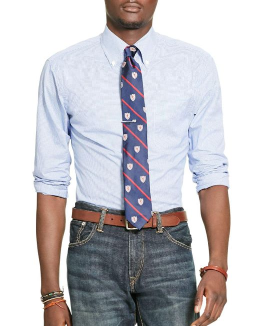 Polo Ralph Lauren Gingham Broadcloth Classic Fit Button