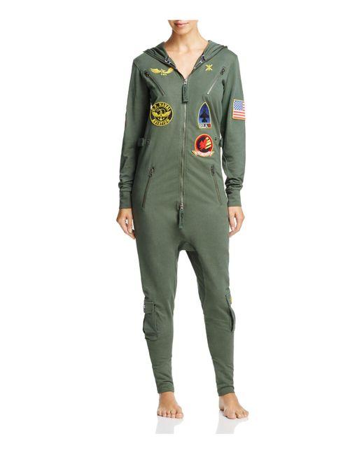 OnePiece | Green Slim Fit Stretch Cotton Jumpsuit | Lyst