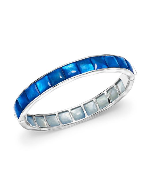 Ippolita | Blue Sterling Silver Rock Candy® Wonderland Channel Set Bracelet In Ultramarine | Lyst