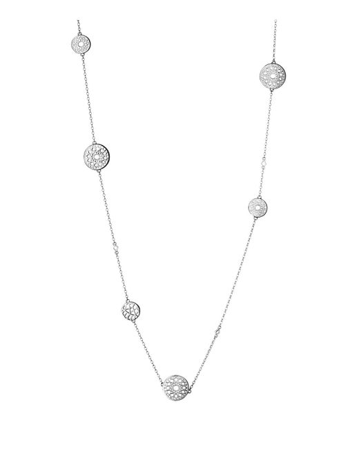 Links of London | Metallic Timeless Silver Multi Station Necklace | Lyst