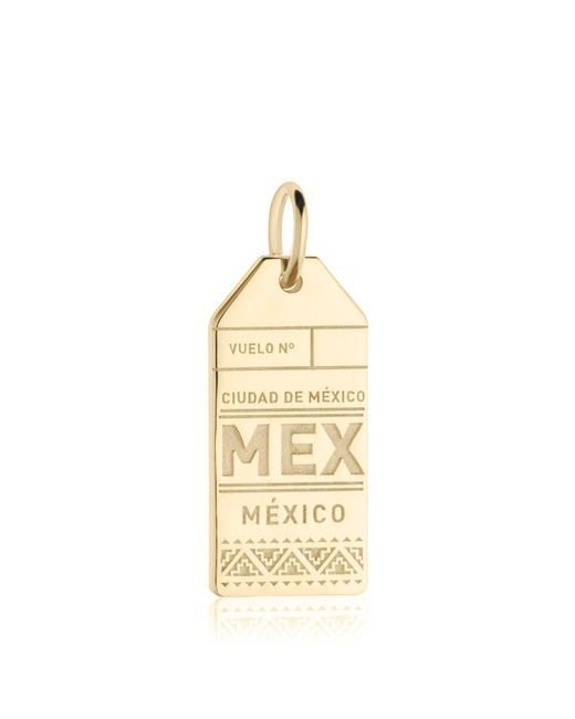 Jet Set Candy | Metallic Mex Mexico City Luggage Tag Charm | Lyst